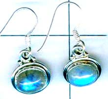 Silver export collection gem stone earring-w8e005