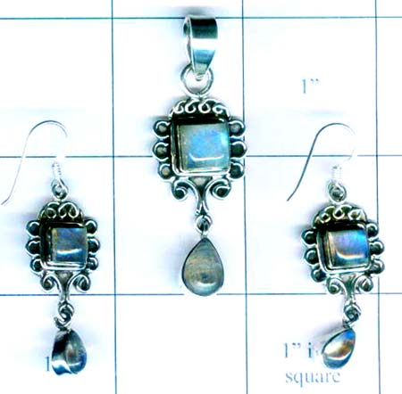 Silver elagent set collection-w8set001