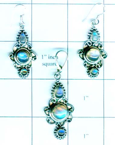 Silver elagent set collection-w8set008
