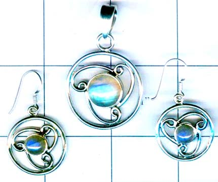 Silver elagent set collection-w8set012