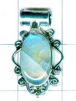 Beautiful silver 92.5 exclusive pendant- w9p187