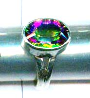 A unique silver gemstone rings of handmade product-w9r004
