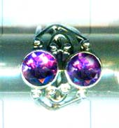 A unique silver gemstone rings of handmade product-w9r011