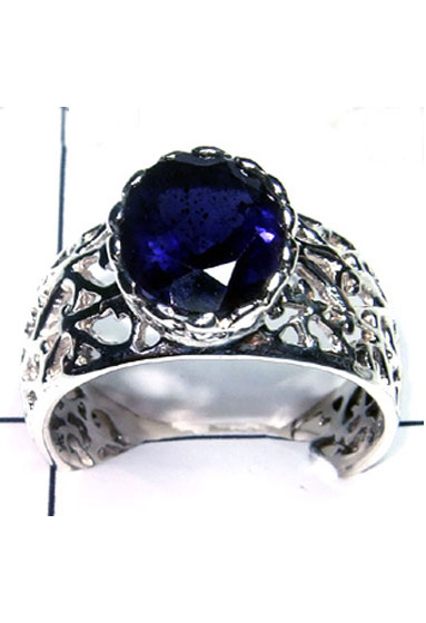 Natural Iolite Fantastic Ring-ICR006