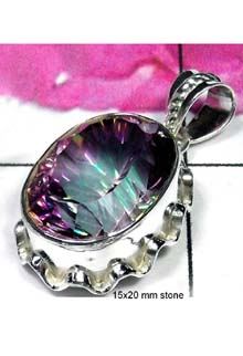 Exclusive Mystic quartz Pendant-IP015