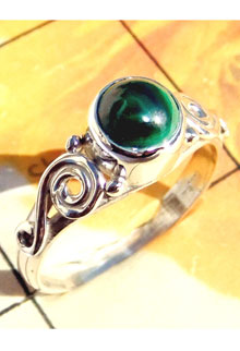 RBS911-Wholesale Lot Cab Gemstone With 925 Sterling Silver Designer Small Size Ring