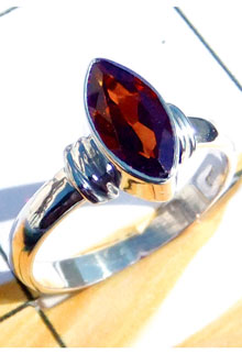 RBS923-Cut Gemstone Small Size Trendy Ring Made With 925 Sterling Silver Wholesale Lot