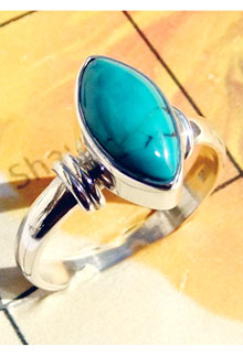 RBS920-Cab Gemstone Beautiful Small Size Ring With 925 Sterling Silver Wholesale Lot