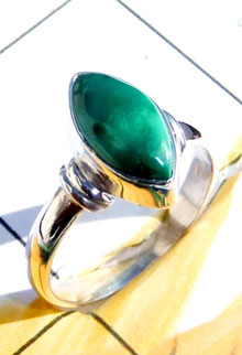 RBS919- Beautiful Cab Gemstone With 925 Sterling Silver Small Size Trendy Ring Wholesale Lot