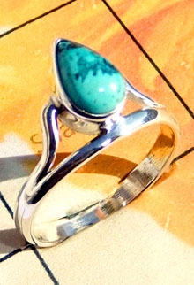 RBS927-Cab Gemstone Lightweight Small Size Ring Made In 925 Sterling Silver Wholesale Lot