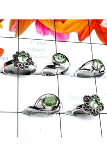 RBS985-925 Sterling Silver 5 Pcs Baby Rings Wholesale Lot
