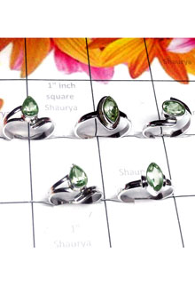 RBS988-Multi Design 5 Pcs With 925 Sterling Silver Baby Rings Small Size