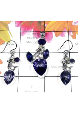 Classic silver gems Sea collection Set-SEASET014