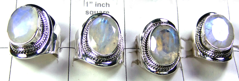Cut Rainbow Rings Lot-SS6R013