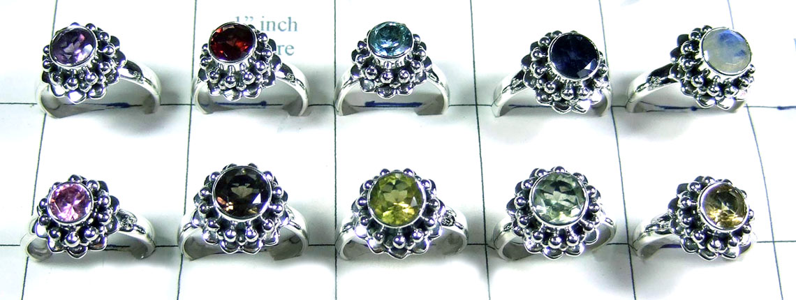 10 Pcs Sterling silver  Rings - SYR033