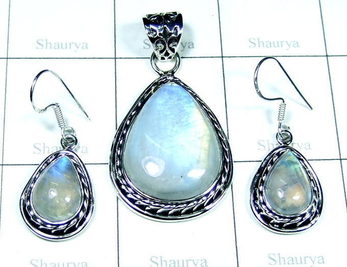 Sterling silver Sets-SYSET001