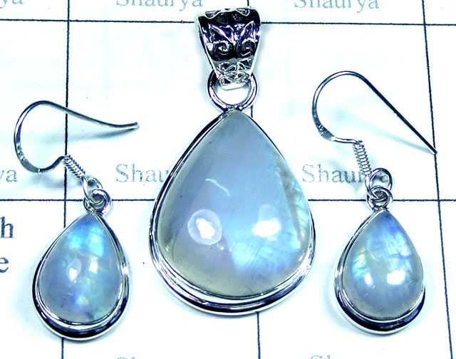 Wholesale silver gems Set-SYSET002