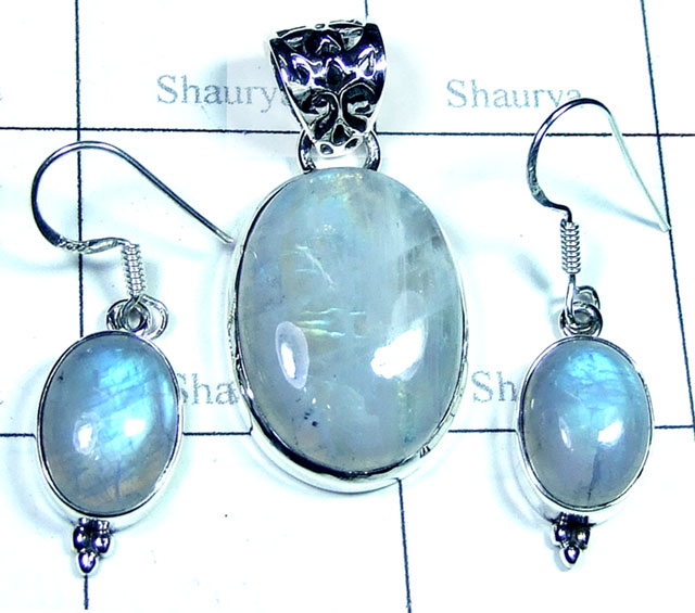 Rainbow Moonstone Set-SYSET003