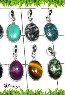W2BCP999-250 gm-Semiprecious Gemstone Cab Bejel Setting Pendants