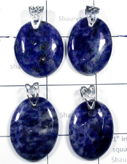 W2DP944-250 gm-Wholesale Silver Beautiful Pendants with Sodalite
