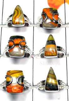 W2GE999-250 gm-Exclusive Sterling Silver Rings With Eclipse Gemstone