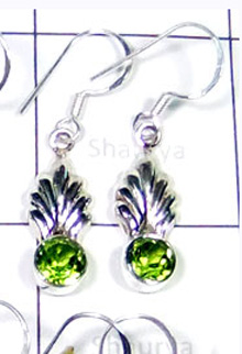 W2LCE992-10 Pair-Stylish Cut & Cab Stone Light Weight Earrings