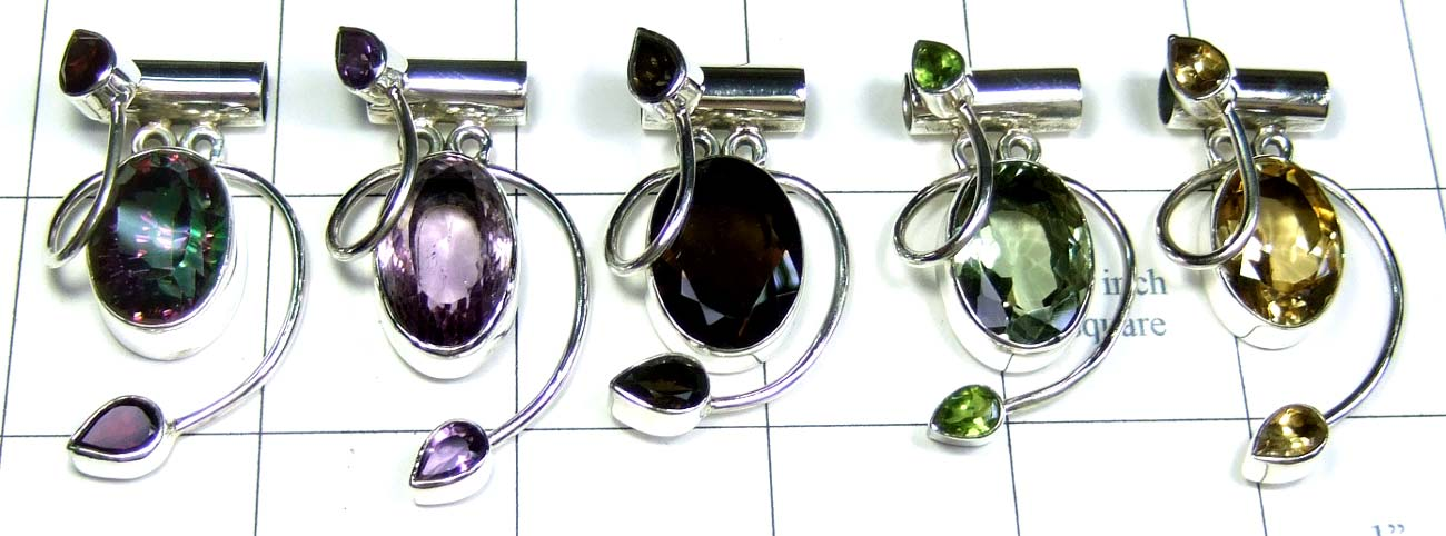 Classic Sterling silver Pendants-jyp278