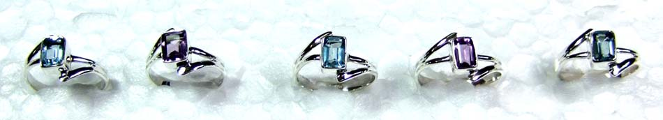 Wholesale Silver 5 Rings-jyr024