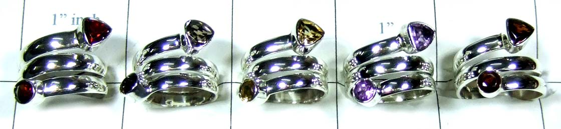 Wholesale Silver 5 Rings-jyr031