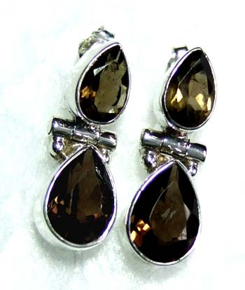 Sterling silver gems Earring-ss4e091
