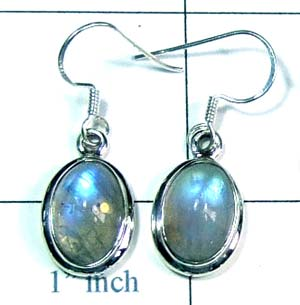 Sterling silver gems Earring-ss4e094
