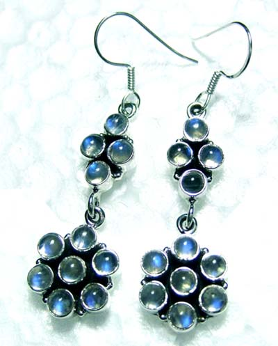 Sterling silver cab Earring-ss4e103
