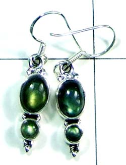 Cabochon silver gems Earring-ss4e108