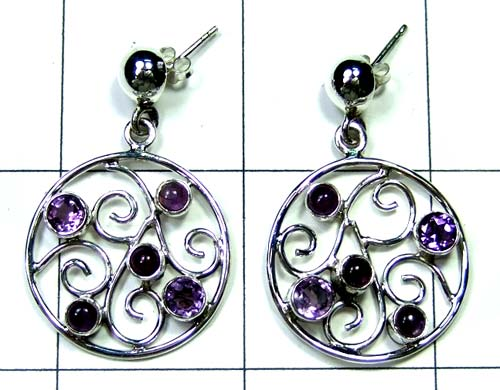 Wholesale Sterling silver Earring-ss4e256