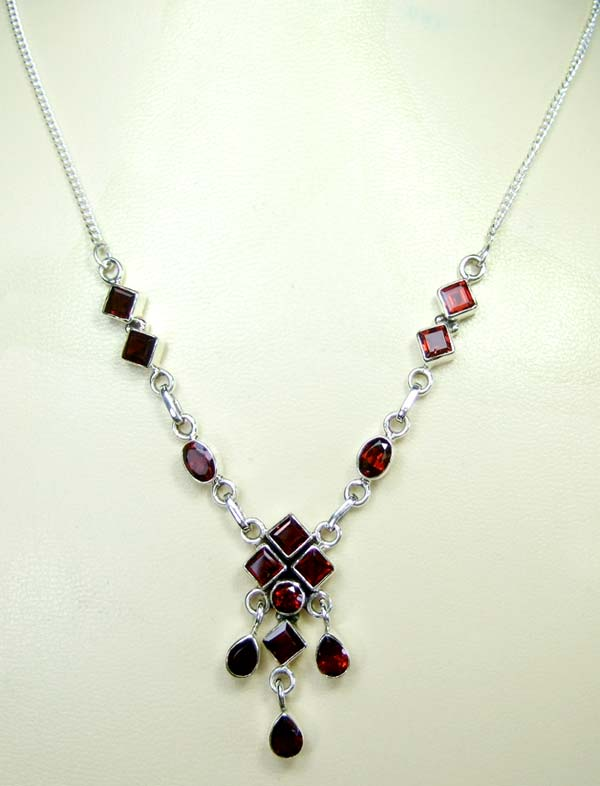 Wholesale silver necklace-ss4n006