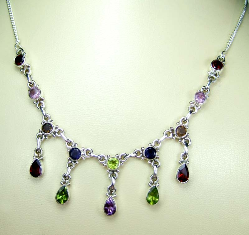 Wholesale Sterling silver Necklace-ss4n019