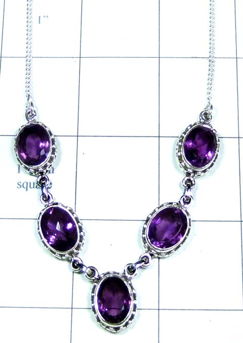 Sterling silvershop Necklace-ss4n025