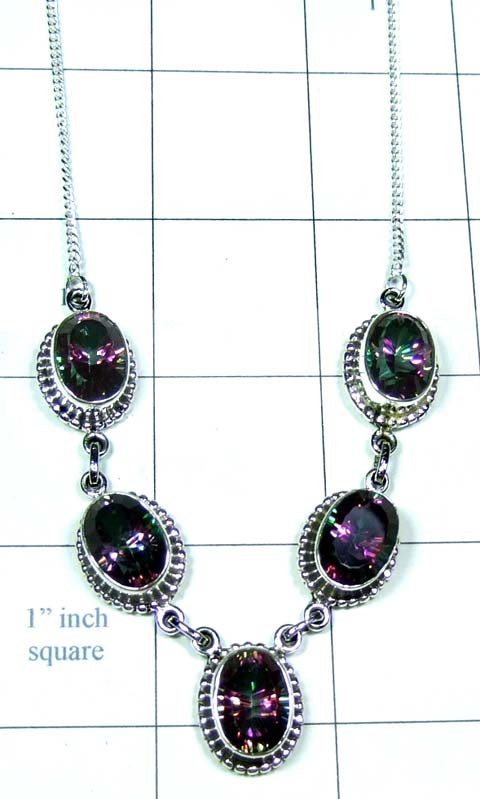 Sterling silvershop Necklace-ss4n028