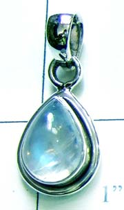 Blue fire Rainbow Pendant-ss4p128