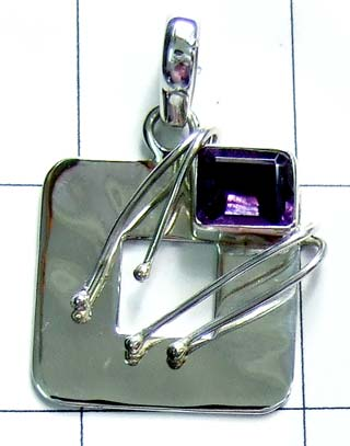 Sterling silver shining Pendant-ss4p152