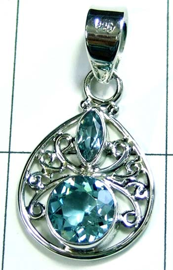 Sterling silver handmade Pendant-ss4p222