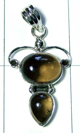 Sterling silver handmade Pendant-ss4p228