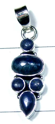 Silver Color gemstone Pendant-ss4p369