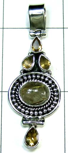 Wholesale Sterling silver Pendant-ss4p452