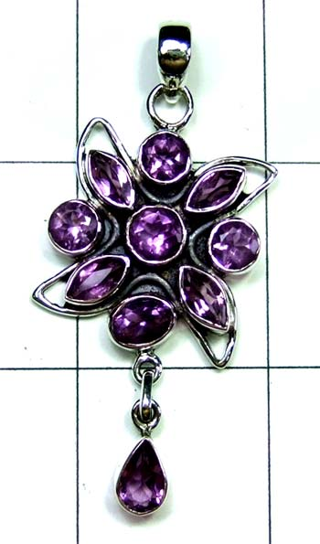 Wholesale Sterling silver Pendant-ss4p454