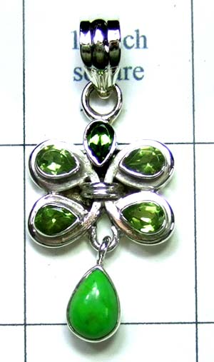 Wholesale Sterling silver Pendant-ss4p468