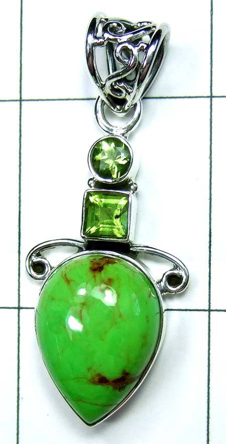 Wholesale Sterling silver Pendant-ss4p478
