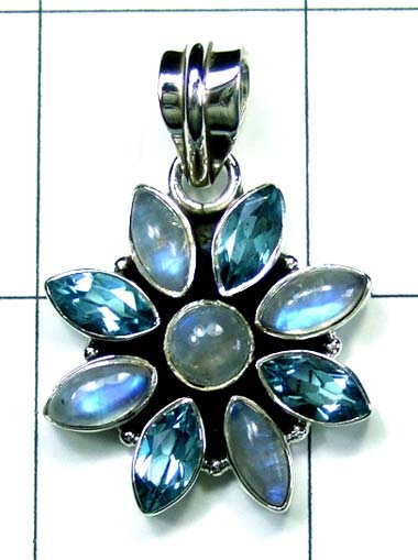 Wholesale Sterling silver Pendant-ss4p482