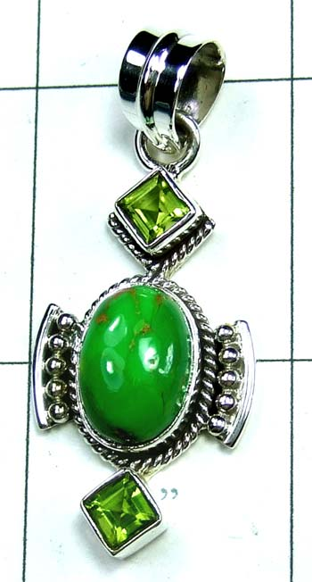 Wholesale Sterling silver Pendant-ss4p487