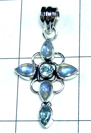Wholesale Sterling silver Pendant-ss4p490
